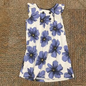 Girls flower Tea Collection dress, size 5